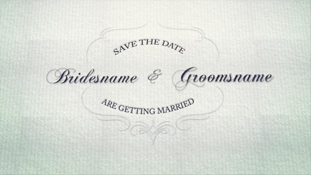 Create Save The Date Video Online