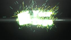 Make a Energy particle reveal logo