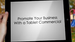 Make a Tablet commercial
